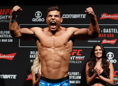 UFC Fight Night: Belfort v Gastelum Weigh-ins
